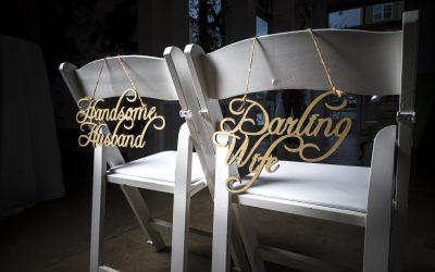 Wedding Idea: Laser Cuttings Make Perfect Details