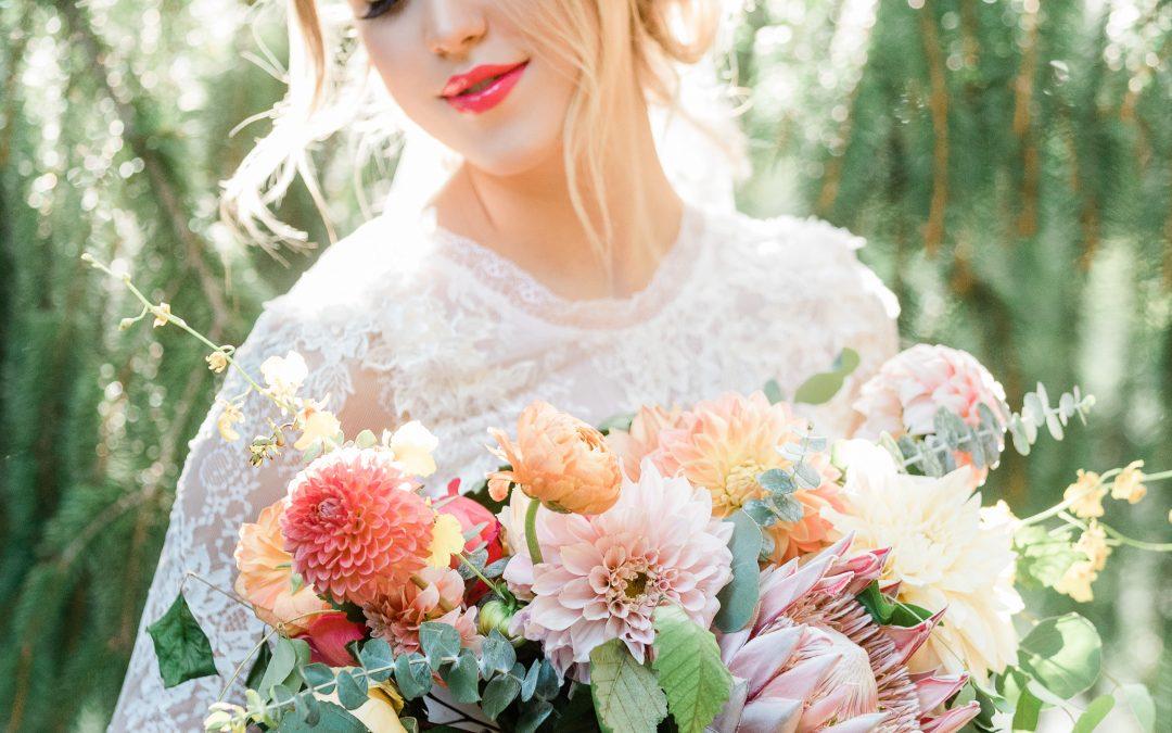 SUMMER HARVEST WEDDING INSPIRATION | ASHEVILLE WEDDING GUIDE FEATURE
